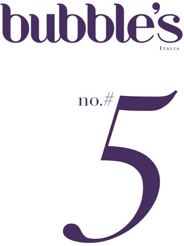 Bubble S Italia Magazine By Andrea Zanfi Editore Issuu