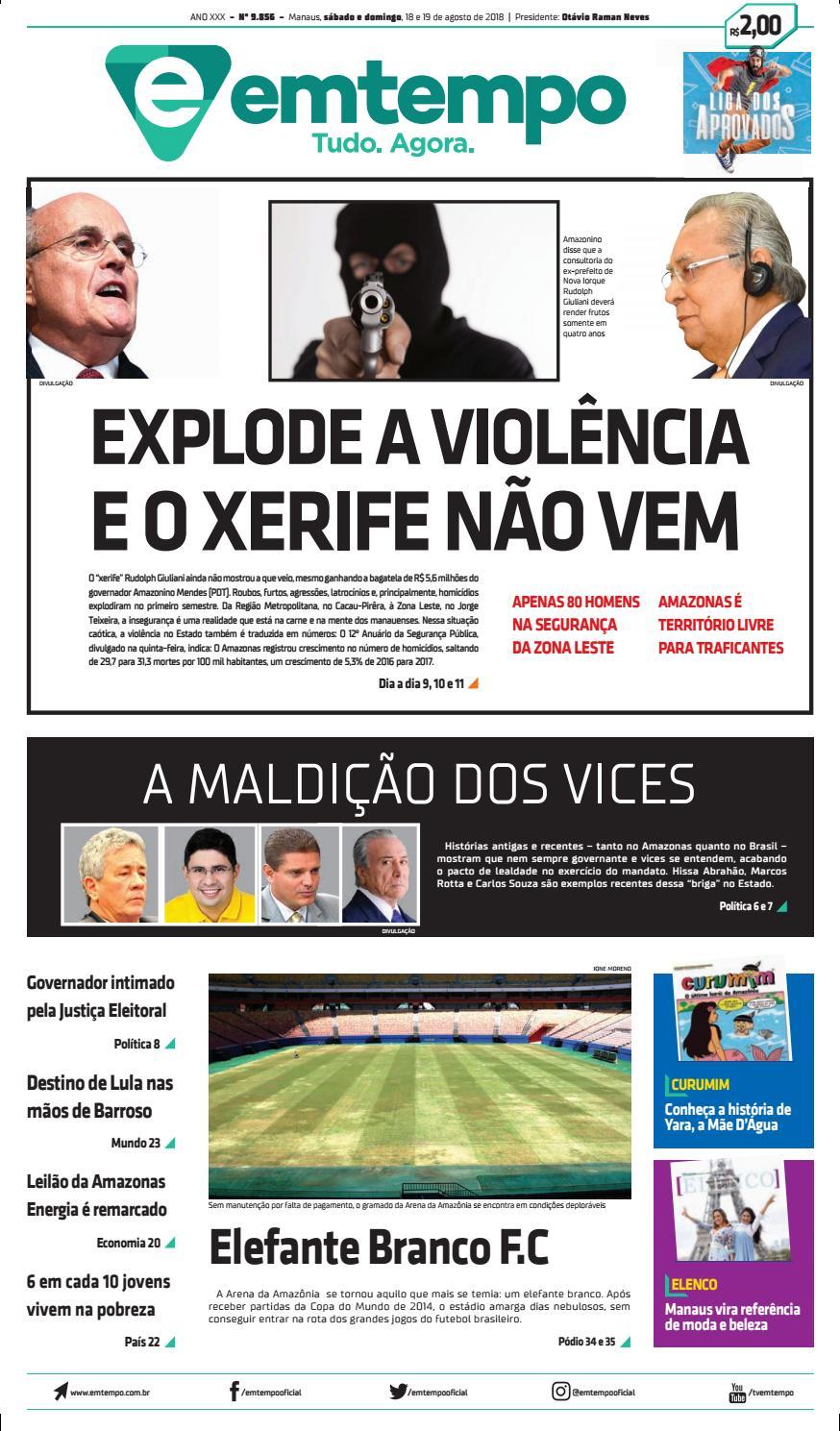 febde184df2 Em Tempo - 19 de Agosto de 2018 by Amazonas Em Tempo - issuu