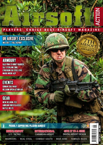 3c82dee5c01f9 Airsoft Action - May 2017 by Airsoft Action Magazine - issuu