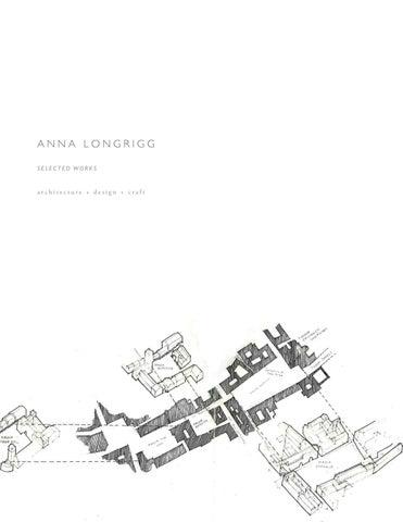 Architecture Design Portfolio 2018 By Anna Longrigg