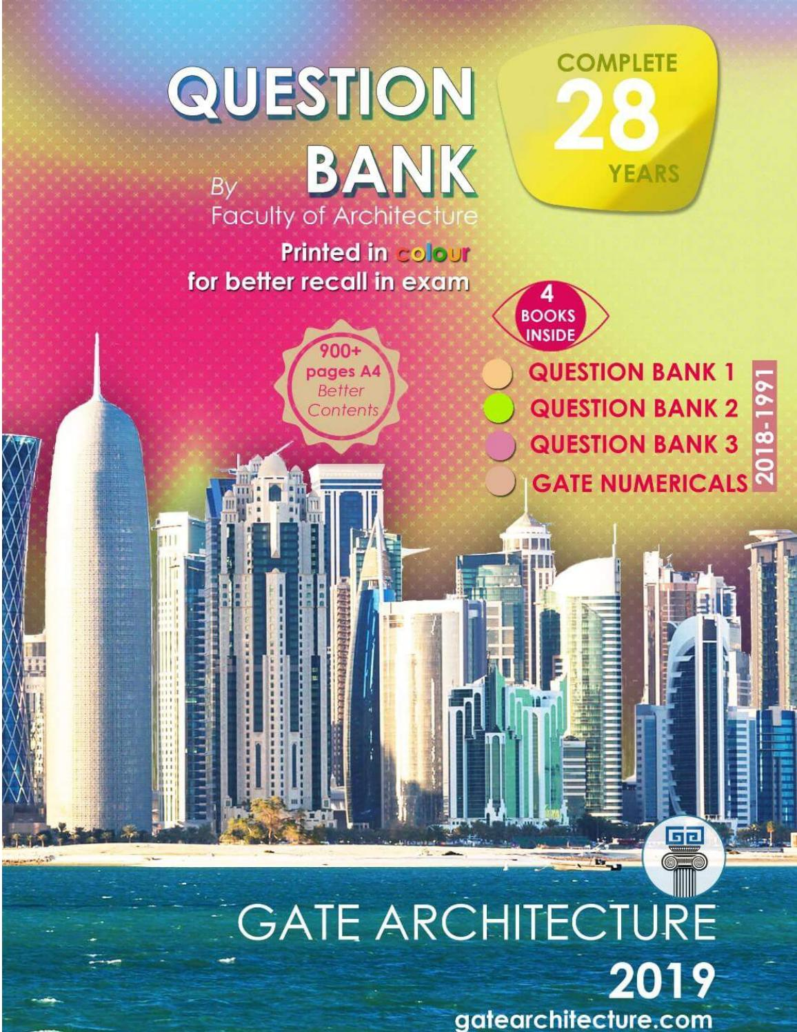 GATE ARCHITECTURE QUESTION BANK (Preview) by gapf GA - issuu