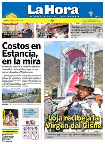 Diario La Hora Loja 20 de Agosto 2018 by Diario La Hora Ecuador - issuu 44671ed60c