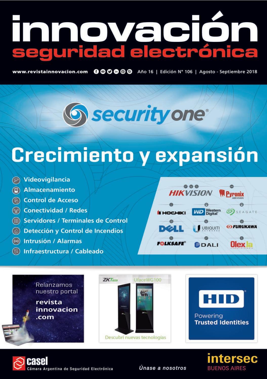 3a3746a9db3 Revista Innovación Seguridad Electrónica N° 106 by Revista Innovación -  issuu