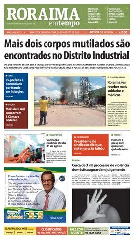 Jornal Roraima em tempo – edição 1012 by RoraimaEmTempo - issuu a475b902c997d