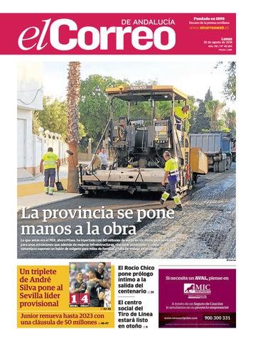 19b421698e7c1 20.08.2018 El Correo de Andalucía by EL CORREO DE ANDALUCÍA S.L. - issuu