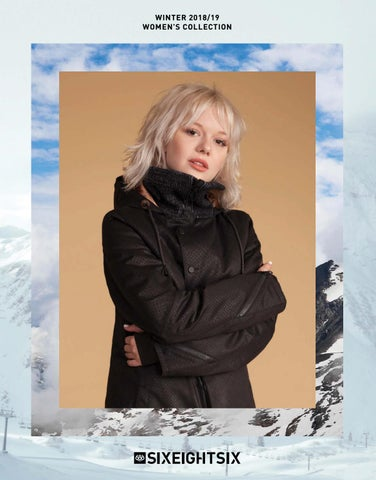 686 WINTER 2018 19 WOMENS COLLECTION