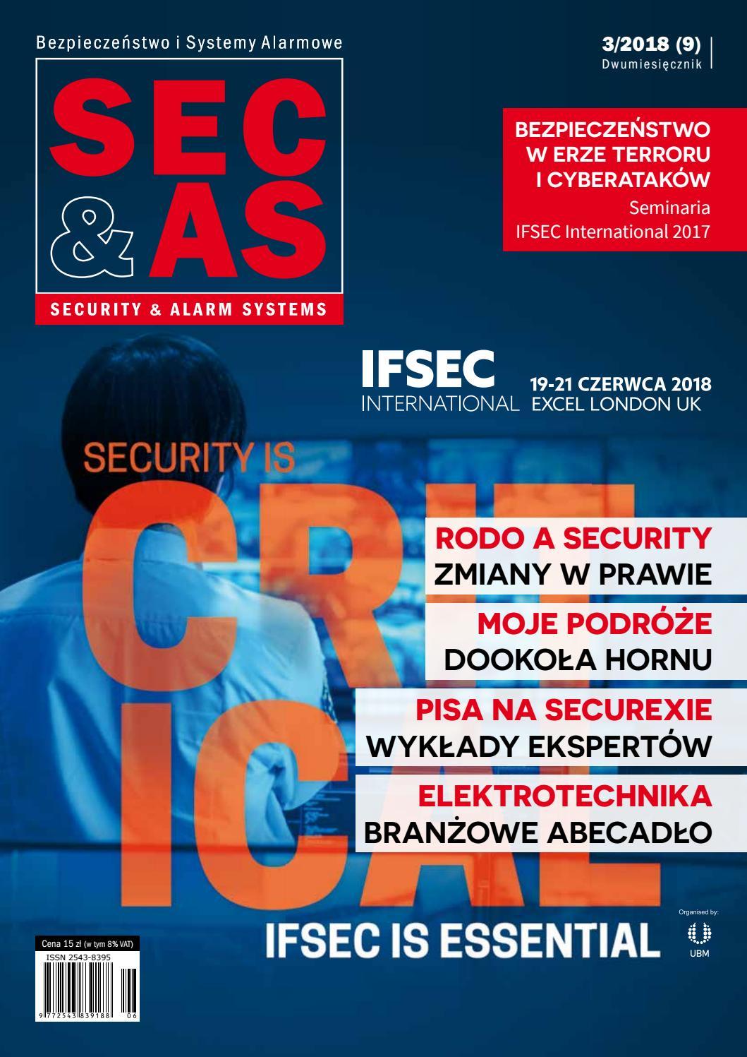 7f1cf6d2033832 SEC&AS (SECURITY & ALARM SYSTEMS) 3 2018 by PISA (Polska Izba Systemów  Alarmowych) - issuu