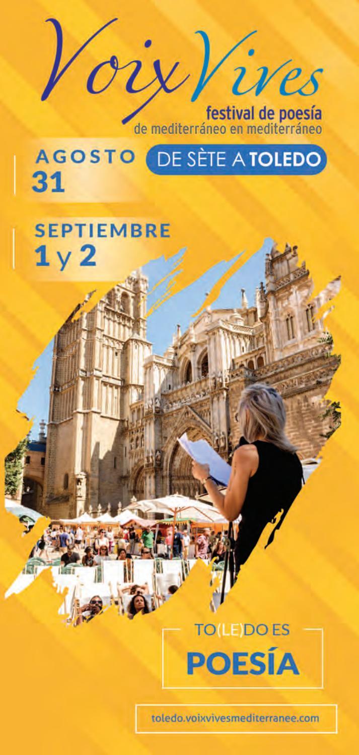 Programación Festival De Poesía Voix Vives 2018 Toledo By