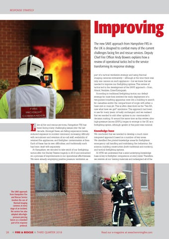 Page 28 of Improving firefighting tactics