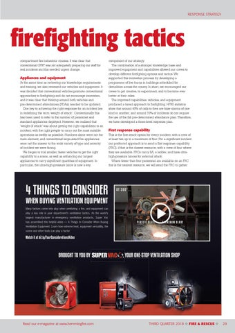 Page 29 of Improving firefighting tactics