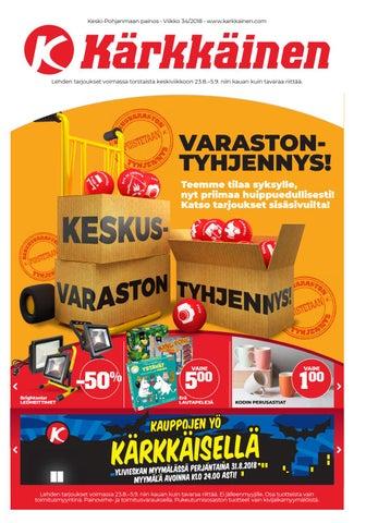 low priced f0b00 ce451 Kärkkäisen mainos (34 2018) (K-P) by Tavaratalo J. Kärkkäinen Oy - issuu