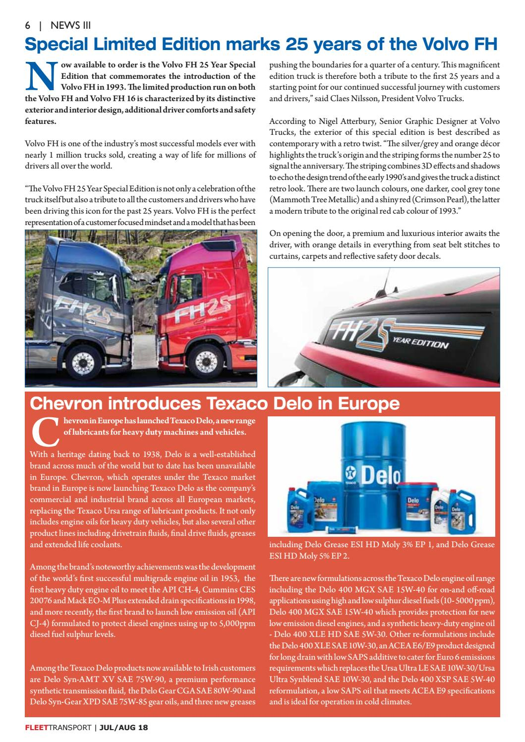 Fleet Transport Aug 2018 by Fleet Transport - issuu