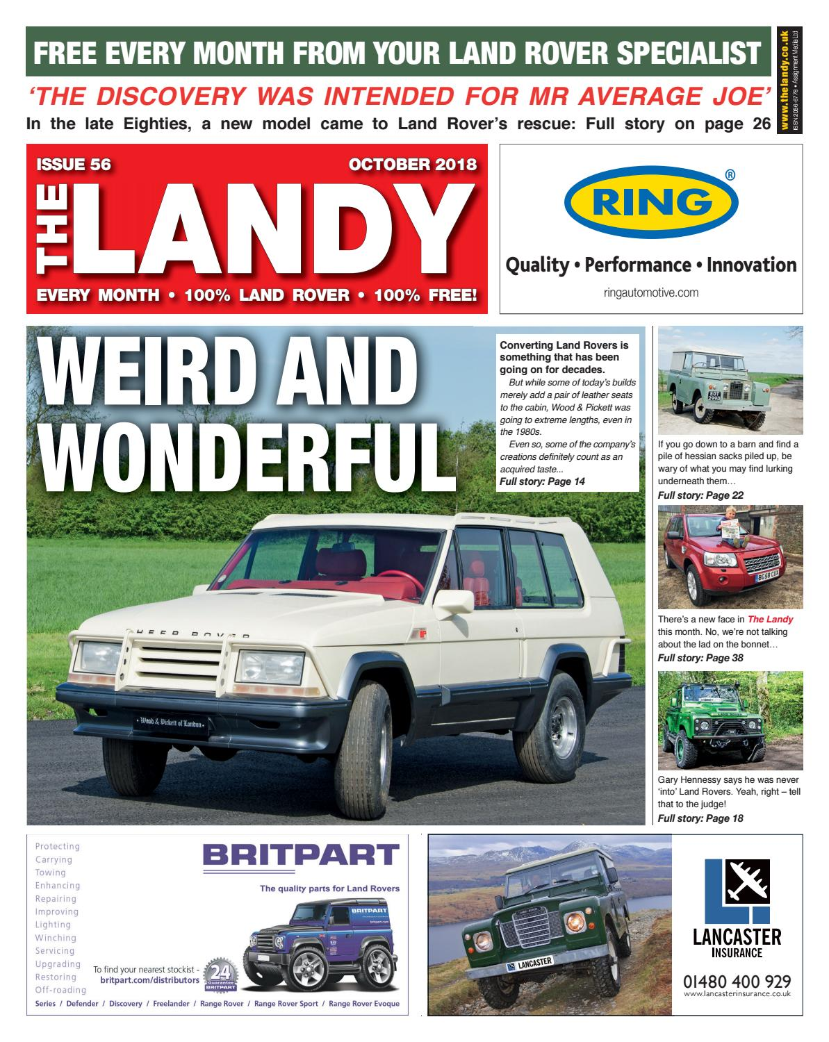 ae2245afc3 The Landy October 2018 by Assignment Media Ltd - issuu