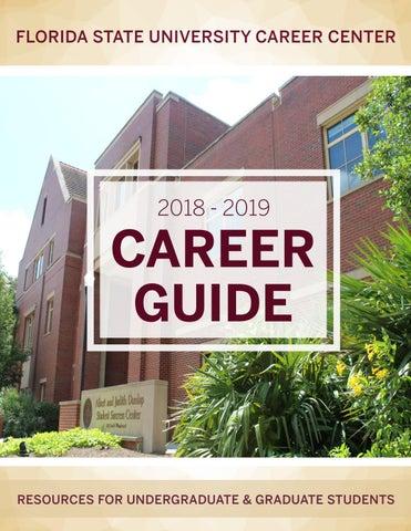 FSU Career Guide 2018-2019