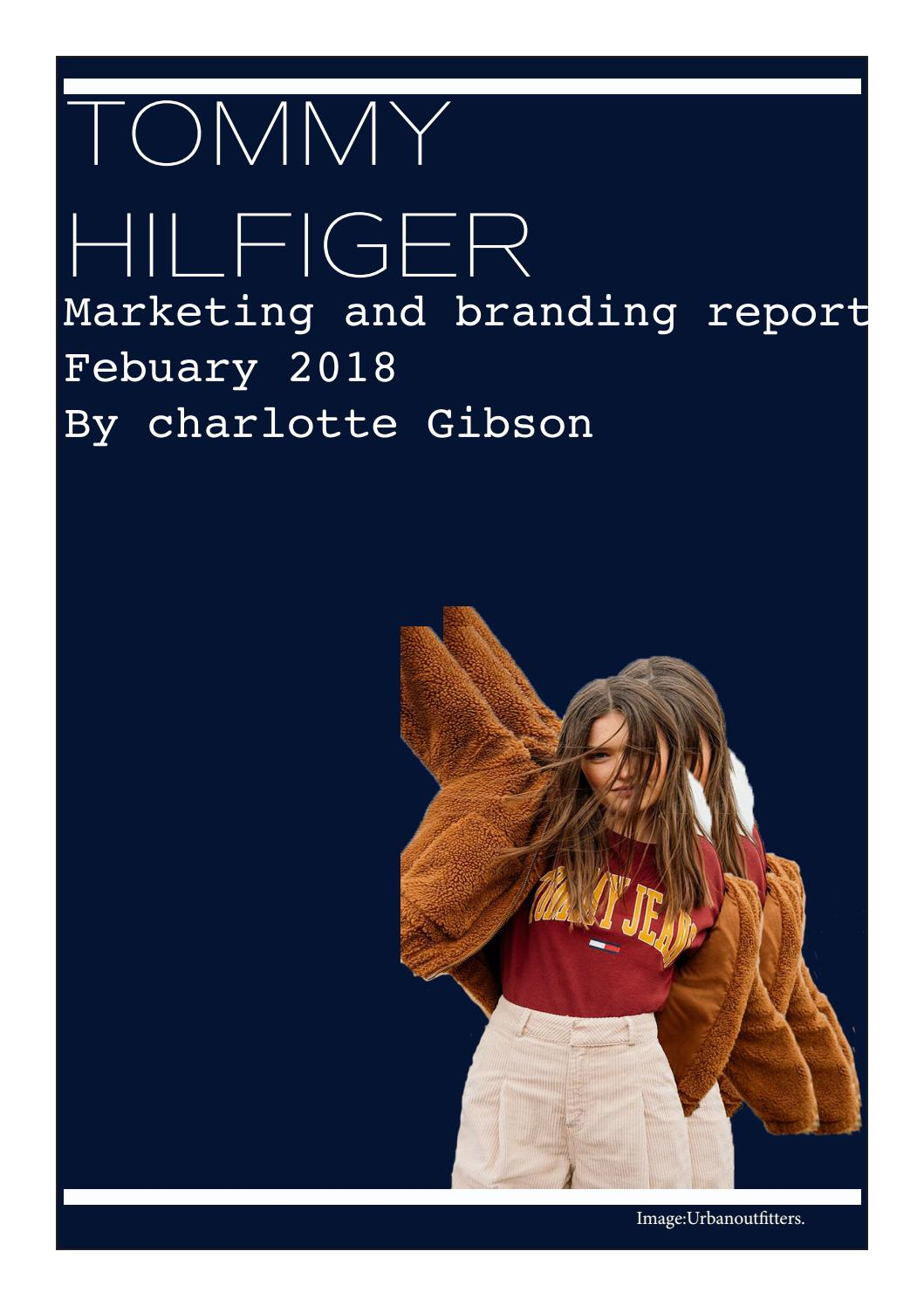 a495acc2d69c Tommy Hilfiger Marketing Report by Chargibsonfcp - issuu