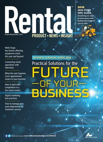 Rental August/September 2018 by ForConstructionPros com - issuu