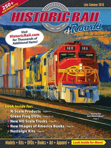 829ea984592 Historic Rail - Late Summer 2018 Catalog by Historic Sales - issuu
