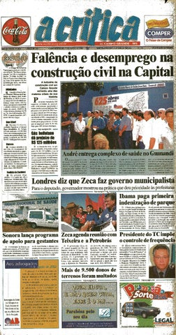 c660a10ce1 Jornal A Critica - Edição 1091- 11 08 2002 by JORNAL A CRITICA - issuu