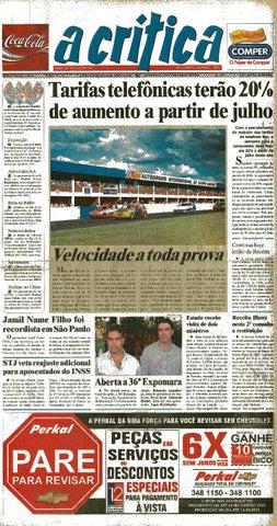 d9075da534dea Jornal A Critica - Edição 1132- 08 06 2003 by JORNAL A CRITICA - issuu