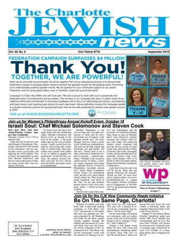 Charlotte Jewish News by The Charlotte Jewish News - issuu