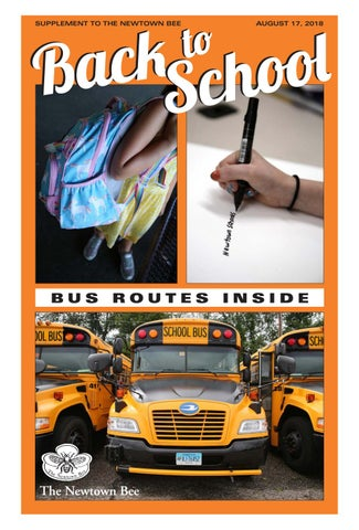 1f7d201ee574 The Newtown Bee s Back To School Guide 2018 by Bee Publishing Co - issuu