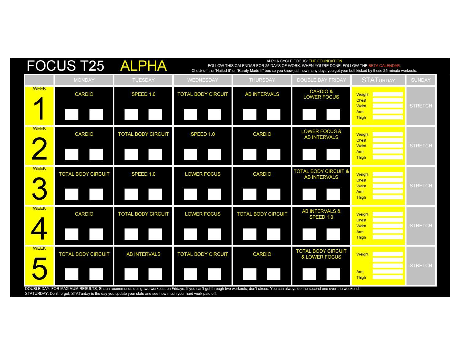 Focus T25 Alpha, Beta, Gamma - by LoboEstepario - issuu