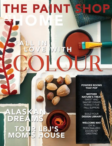 3e96693a1105 The Paint Shop At Home Fall 2018 by At Home Magazine - issuu