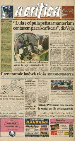 2e7967a310f1 Jornal A Critica - Edição 1279- 14/05/2006 by JORNAL A CRITICA - issuu