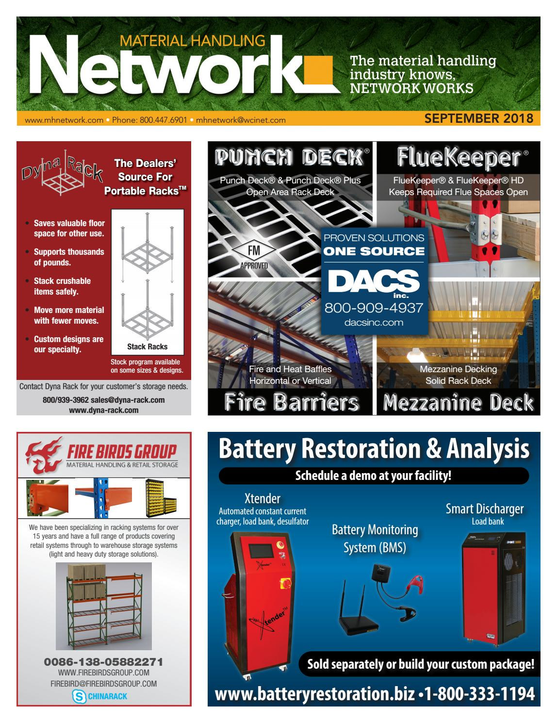 Material Handling Network September 2018 By Yale Forklift Four Way Switch Wiring Diagram Issuu