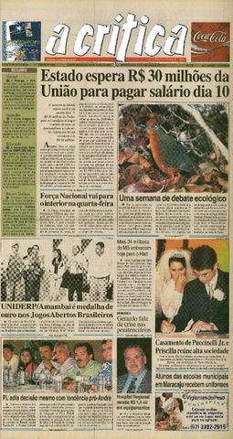 8e0e64c7ddec Jornal A Critica - Edição 1282- 04/06/2006 by JORNAL A CRITICA - issuu