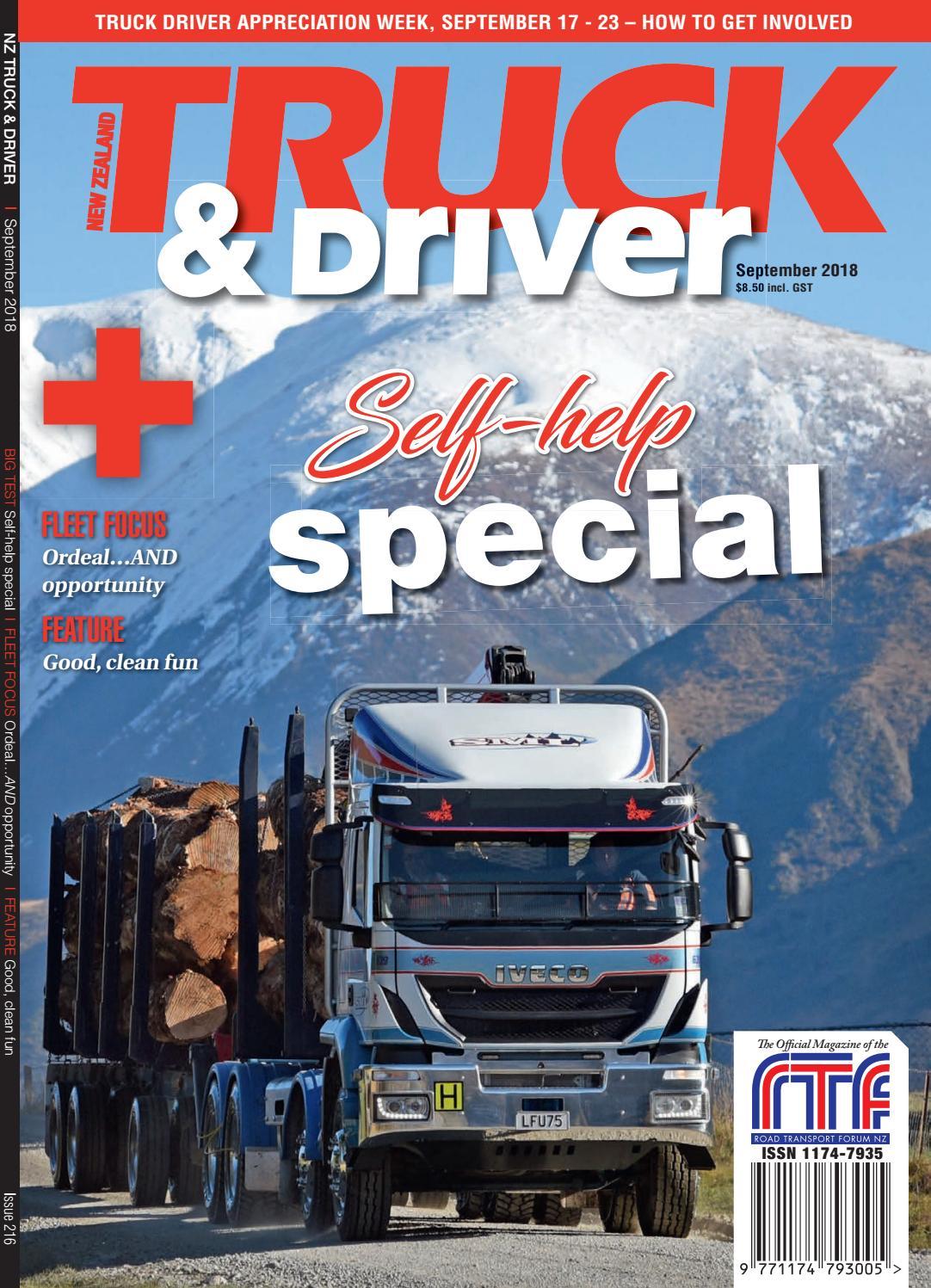 NZ Truck & Driver September 2018 by NZ Truck & Driver - issuu