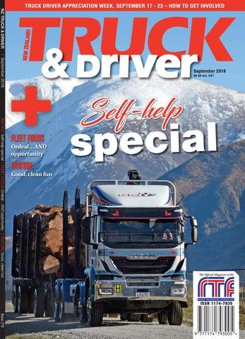 Nz Truck Driver September 2018 By Nz Truck Driver Issuu