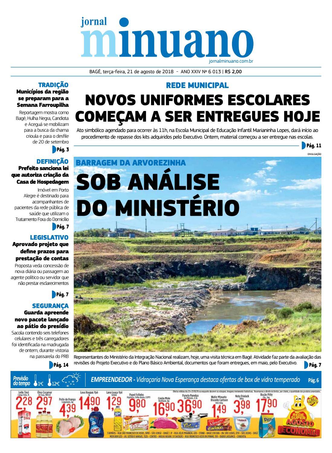 20180721 by Jornal Minuano - issuu 2aabf33314c35