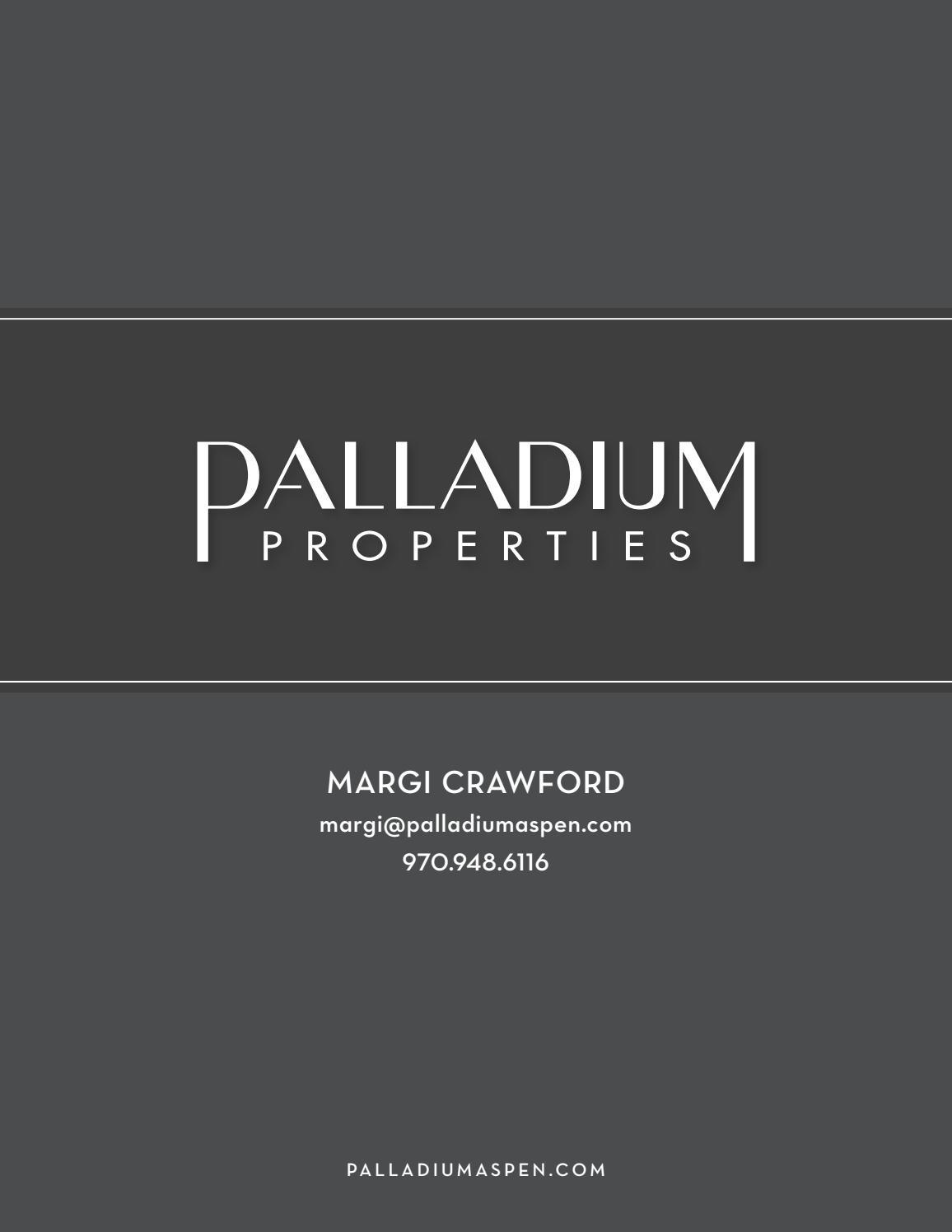 Margi Crawford + Palladium Properties by SSF RFV - issuu