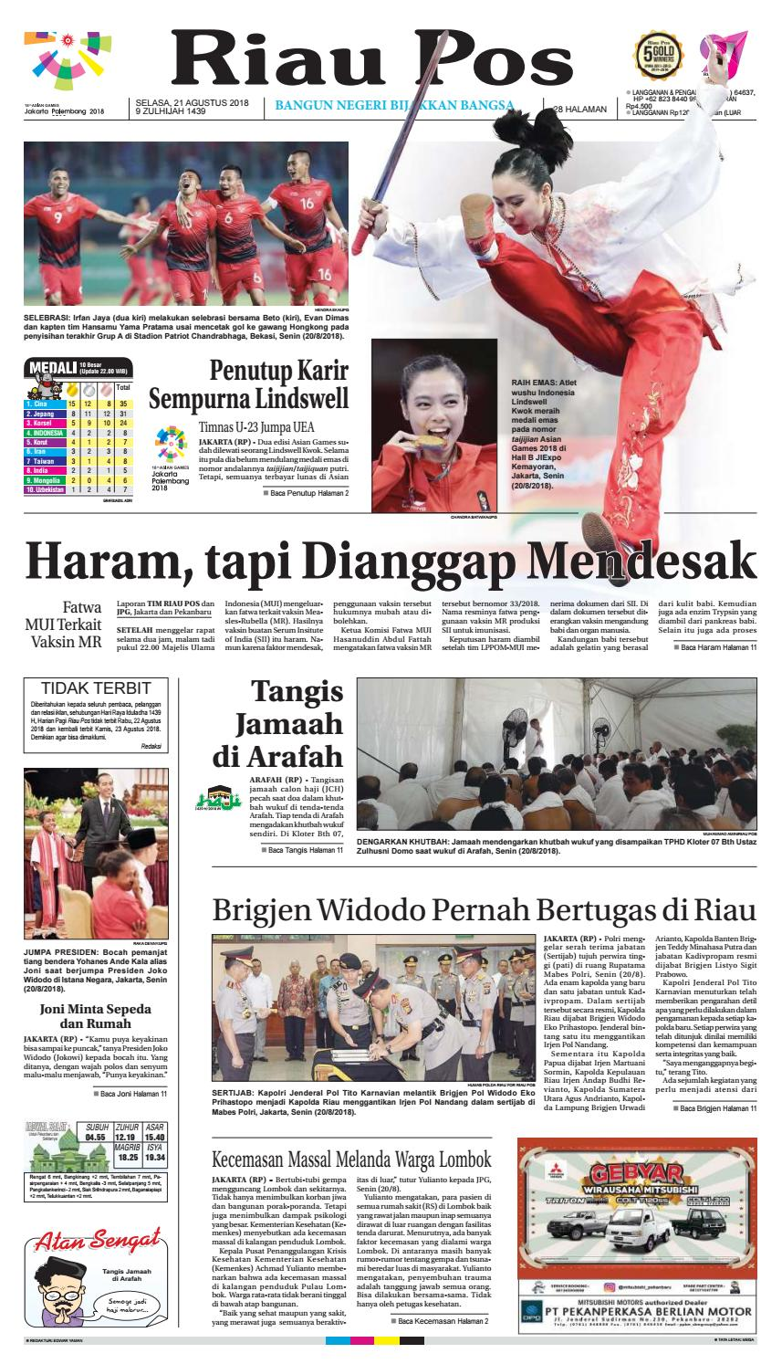 2018 08 21 By Riau Pos Issuu Produk Ukm Bumn Kotak Tisu Pandan Decopage