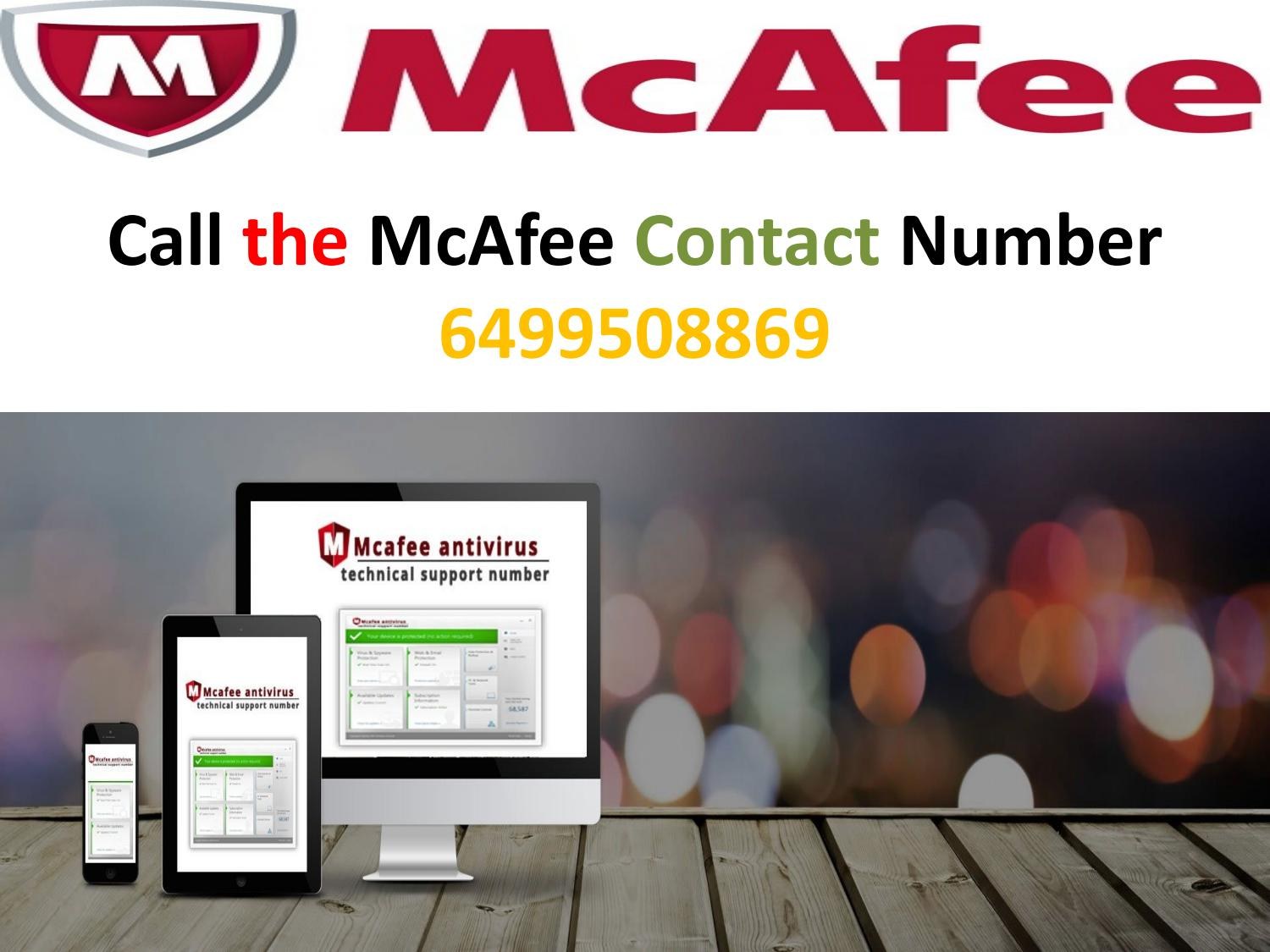 Dial the McAfee Customer Support Number 6499508869 and provide best  solution by Lorain Ventura - issuu