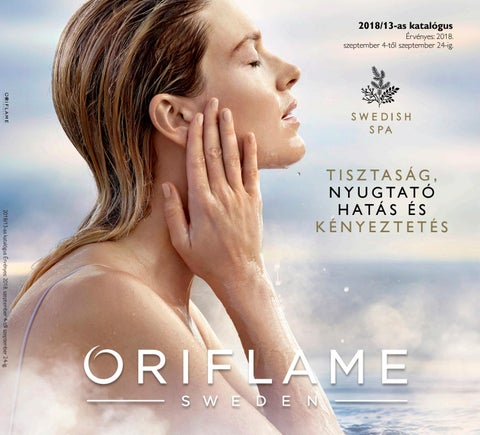 9c555503bd Oriflame 2018. 13-as katalógus by Andrea Molnar-Rozvadszky - issuu