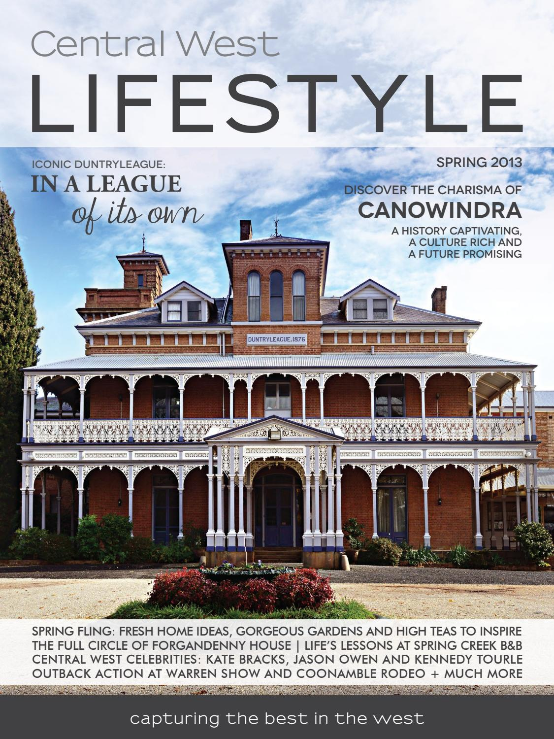 2 Central West Lifestyle Spring 2013 By Central West Lifestyle