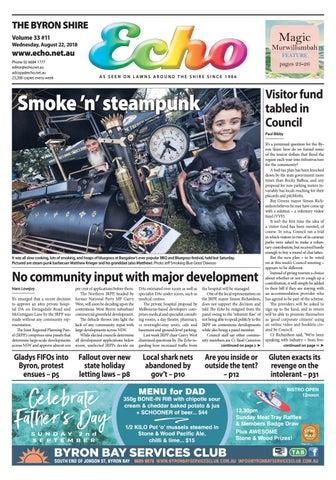 The Byron Shire Echo Issue 33 11 August 22 2018 By Echo Publications Issuu