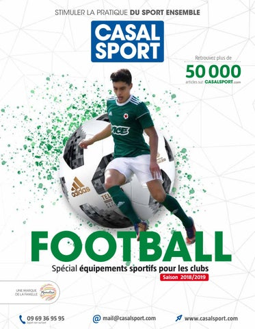 Spécial 2018 By Catalogue Casal Foot Issuu Clubs Sport Bwx8O