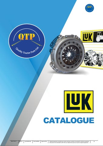 LUK Catalogue by Quality Tractor Parts - issuu