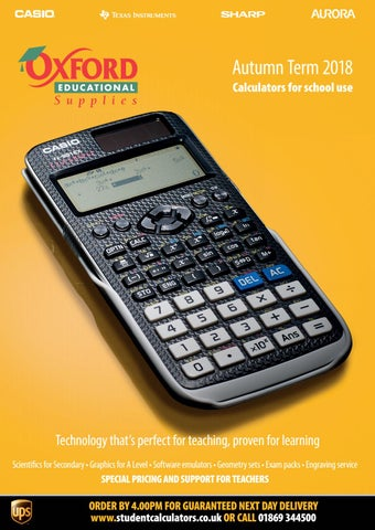 Oxford Educational Supplies Autumn 2018 Catalogue by