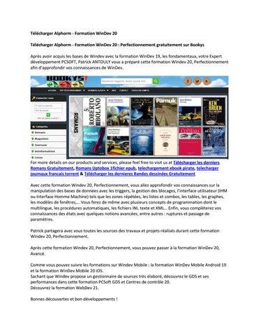 GRATUITEMENT ALPHORM GRATUITEMENT TÉLÉCHARGER FORMATION