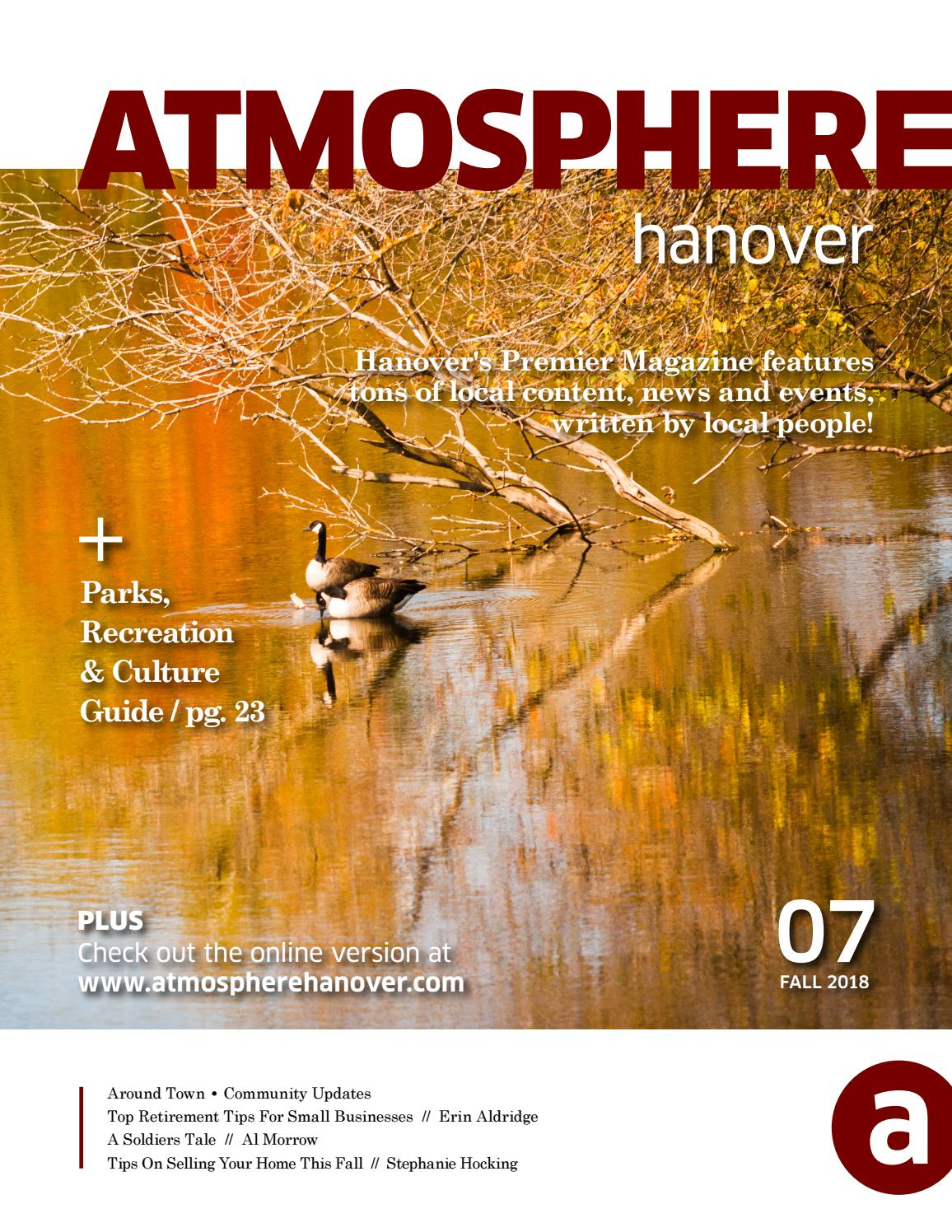 6e52cd949e0 Fall 2018 Atmosphere by Town of Hanover Parks   Recreation ...