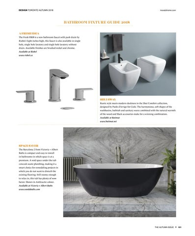 Page 101 of BATHROOM FIXTURE GUIDE