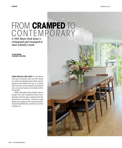 Page 110 of FROM CRAMPED TO CONTEMPORARY