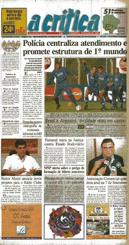070234001f Jornal A Crítica - Edição 933 - 11 07 1999 by JORNAL A CRITICA - issuu