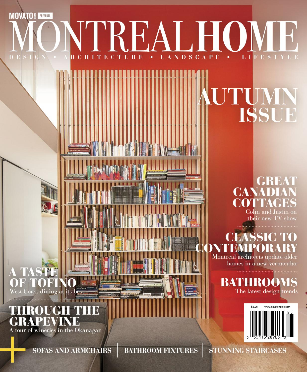 Montreal Home Autumn 2018 By Home In Canada Design Architecture Landscape Lifestyle Issuu