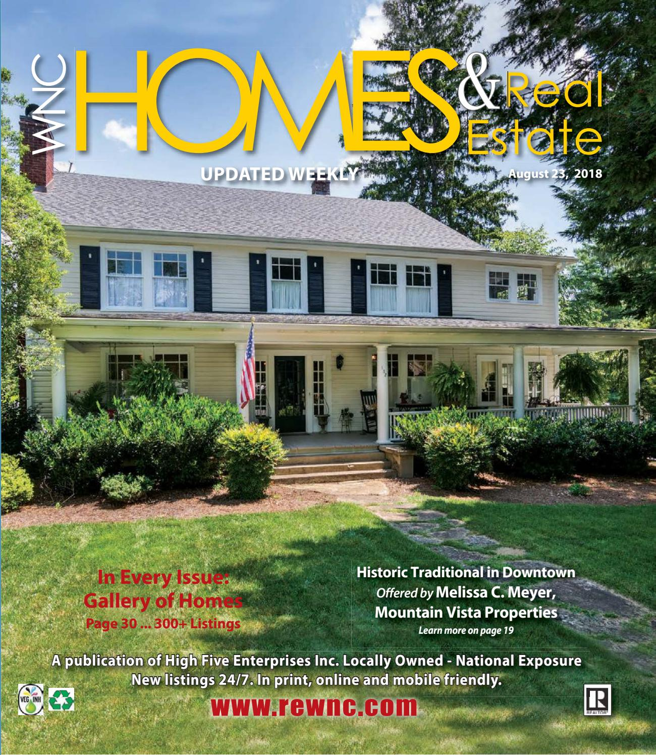 vol 29 august 23 by wnc homes real estate issuu rh issuu com