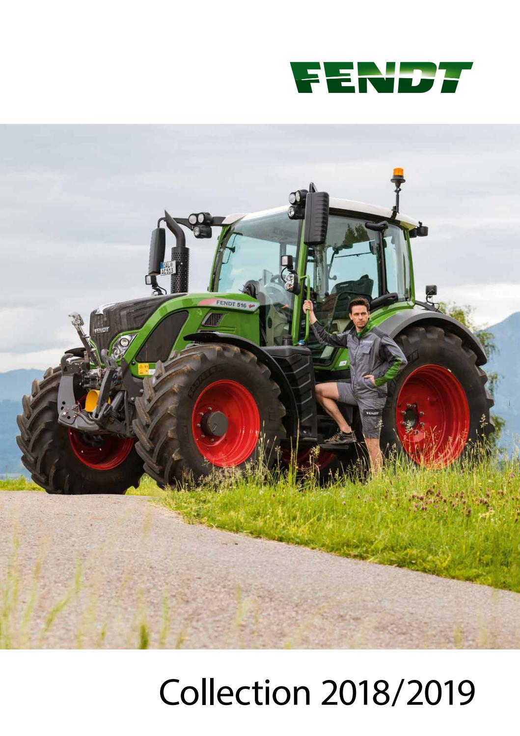 Fendt Collection 2018 19 Fr By Agco Merchandise Issuu